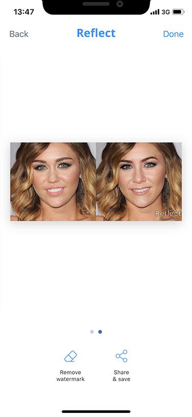 Сравнение с оригинальным фото