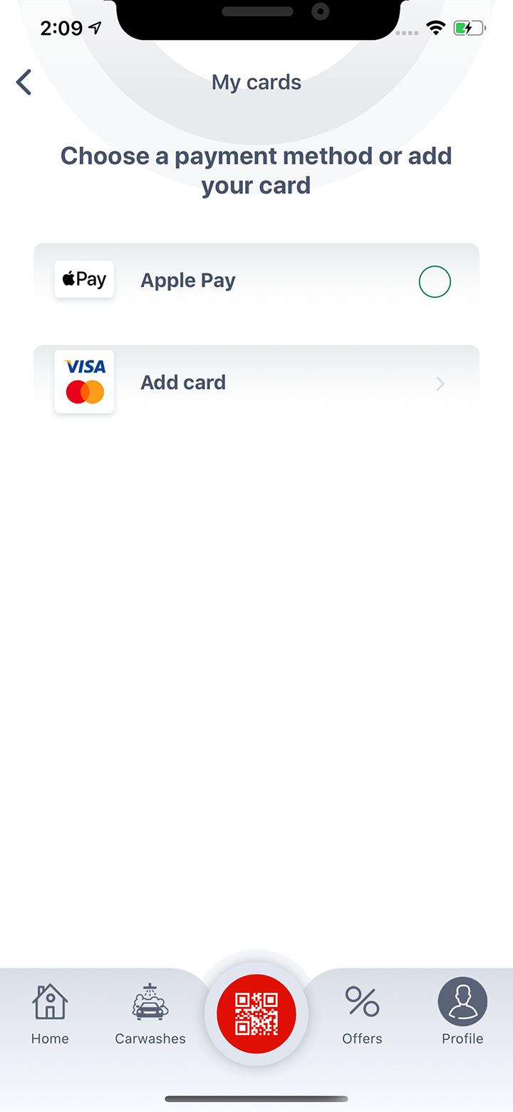 Выберите метод оплаты